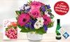 Blumenstrauß oder Blumen-Gesteck