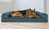 Deals on Faux-Fleece Chenille Soft Woven Sofa-Style Orthopedic Pet Bed Small