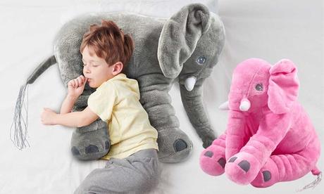 Cojín en forma de elefante para niños