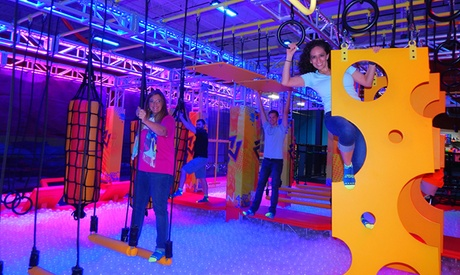 Attractions Pass for Two, Four, or Six or Party at Urban Air Adventure and Trampoline Park (Up to 49% Off)