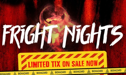$42.95 for Fright Night at Adventure World Ticket, 22 or 23 February, or 1 or 2 March Up to $49.95 Value