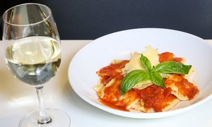 Brew Cafe: Lunch with Wine, Beer or Soft Drink for One ($15), Two ($29) or Four People ($55) at Brew Cafe (Up to $124 Value)