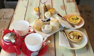 Cakes by Judy C: Deluxe High Tea for Two ($25) or Four People ($49) at Cakes by Judy C, Ashgrove (Up to $100 Value)