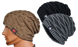 Bonnet en coton pour homme