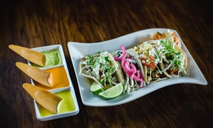 West Coast Inspired Meal for Two or Four at Agave Bar and Taqueria (Up to 51% Off)