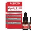 1 or 2 Bottles of Dermpeel Vitamin C 100X Eye Lift Serum (0.33 Fl. Oz)