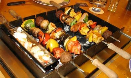 Onbeperkt barbecueën voor 28 pers. bij Ziësta BBQ Restaurant Hengelo