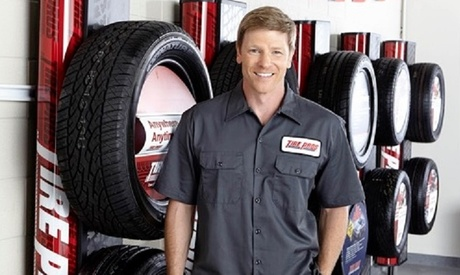 Four New Tires or Any Other Service at Big Discount Tire Pros (Up to 53% Off)