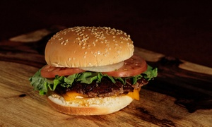 Mccoy Burger Co: Burgers, Poutine, Shakes, and More at Mccoy Burger Co (Up to 52% Off). Three Options Available.