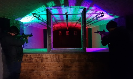 Airsoft Shooting Taster or Rifle and Pistol Experience for Up to Six at Ultimate Airsoft Range