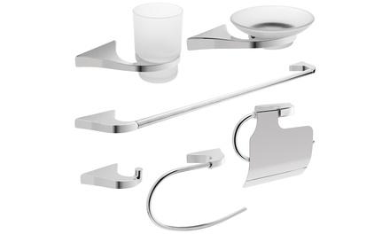 Savisto Turin SixPiece Bathroom Accessories Pack