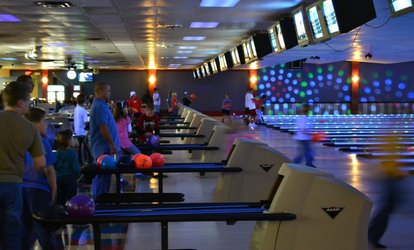image for Two Games of Bowling with Shoe Rental for Two, Four, or Six on Weekdays or Any Day at Star Lanes (Up to 50% Off)