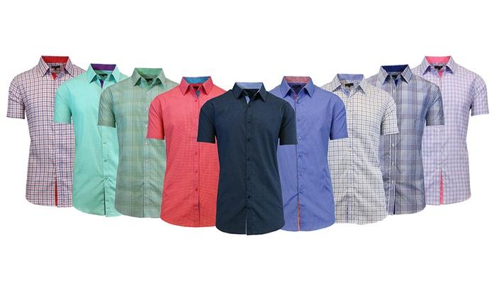 Men's Short-Sleeve Button-Down Shirt Mystery Deal