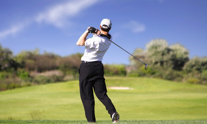 Villa Olivia Golf Course - Bartlett: $44 for a 9-Hole Round of Golf for Two at Villa Olivia Golf Course ($74 Value)