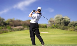 Diamondback Golf Club: Golf with Cart and Range Balls for 2 or 4 at Diamondback Golf Club (Up to 45% Off). Four Options Available.