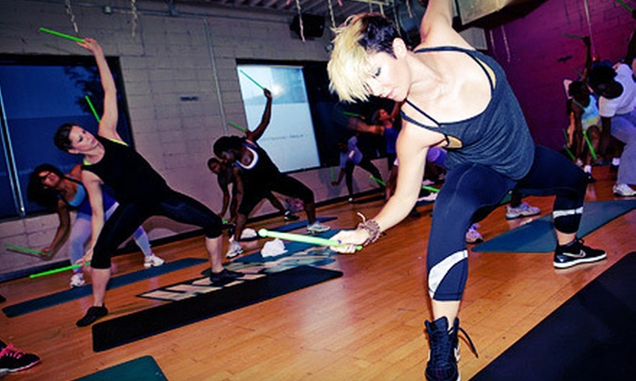 Uninhibited Fitness - Lakeside: 10 PoundFit or Dance-Fitness Classes at Uninhibited Fitness (Up to 75% Off)