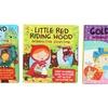 Kids Surprise Classic Interactive Board Story Book Bundle (3-Piece)