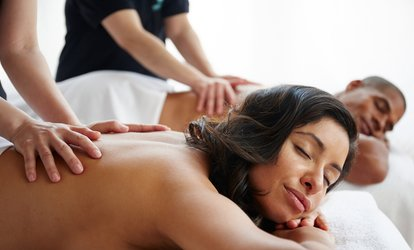image for <strong>Couples <strong>Massage</strong></strong>, Swedish <strong>Massage</strong>, or <strong>Massage</strong>, Facial, and Pedicure at A New Day Spa (Up to 57% Off)