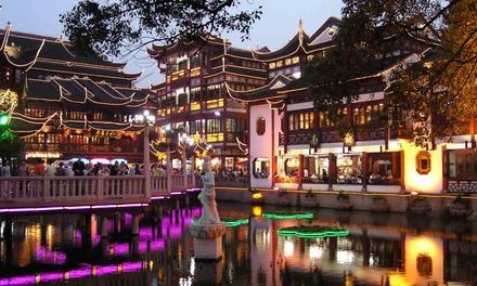 Shanghái: 7 noches 4 con actividades y crucero