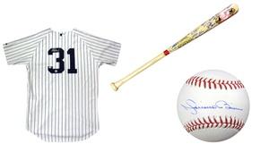 MLB New York Yankees Autographed Memorabilia