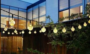 1 ou 2 guirlandes solaires de 30 LEDs