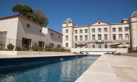 Canal du Midi 4*: 1 à 2 nuits en Suite avec pdj, spa, modelage et dîner en option au Château de la Redorte & Spa pour 2