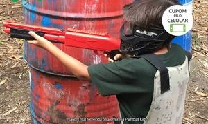Paintball Kids: Paintball Kids – Tijuca: 2 horas de paintball com 30 bolinhas para 1, 2 ou 6 jogadores