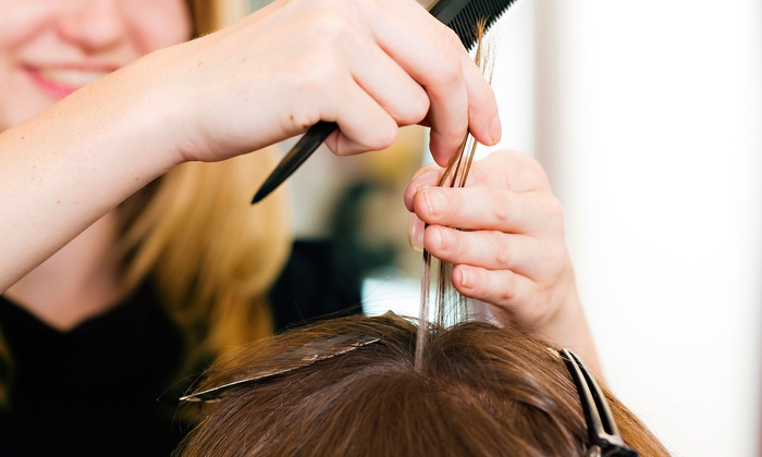 Shades of Gray - Southfield: $39 for $70 worth of Women's Haircuts at Shades of Gray