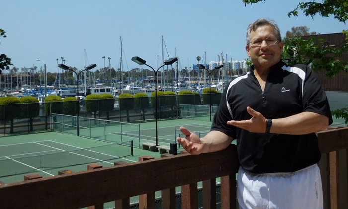 Tennis Coaching & Sport Science - Marina Del Ray: One or Three 60-Minute Private Tennis Lessons at Tennis Coaching & Sport Science (Up to 56%Off)