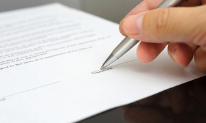 WSL: Will Writing Service for One or Two Wills with WSL (Up to 83% Off)