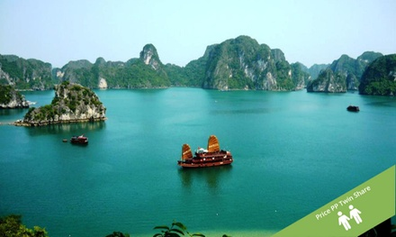 Vietnam: $729 Per Person for a 10-Day Tour with Meals, Cruise and Domestic Flight with Halong Tours Booking