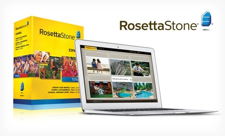 Rosetta Stone Level 1–4 in English, French, Italian, or Spanish