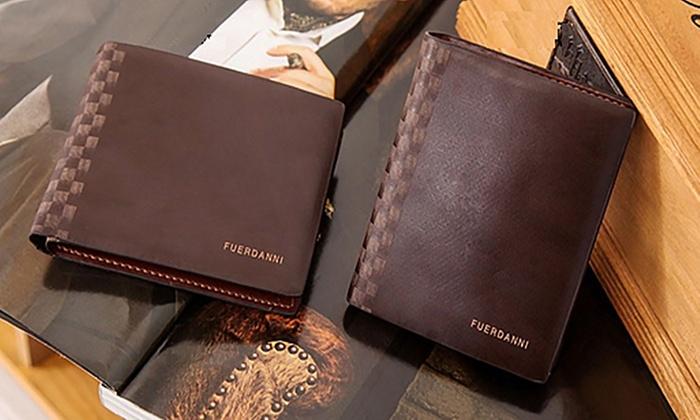 Fuerdanni Men's Leather Wallet