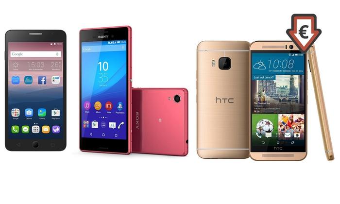 Alcatel, Sony e HTC ricondizionati