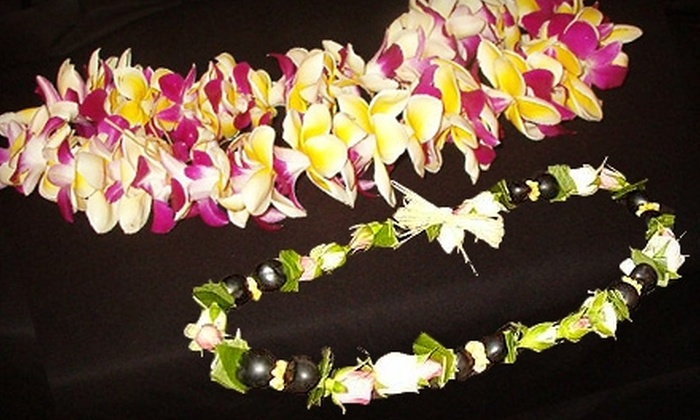 Lei of Love - Long Beach: $25 for $50 Worth of Leis, Floral Arrangements, and More from Lei of Love