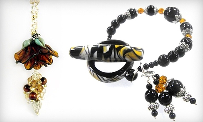 Peraza Bead & Jewelry Glass Art Studio - Fuquay-Varina: $25 for $50 Worth of Jewelry, Beads, and Classes at Peraza Bead & Jewelry Glass Art Studio in Fuquay-Varina