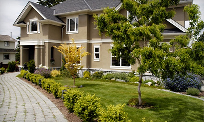 Naper Lawn Works - Oswego: Trees, Bushes, and Mulch at Naper Lawn Works. Two Available Options.
