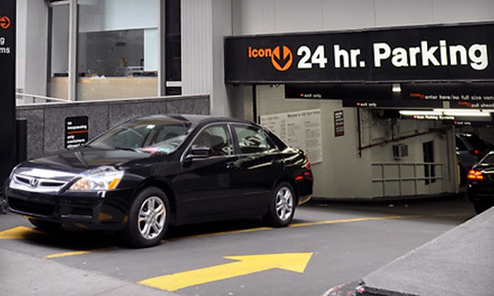 Icon Parking Systems - Multiple Locations: One All-Day Parking Pass or One Month of Unlimited Parking from Icon Parking Systems (Up to 70% Off)