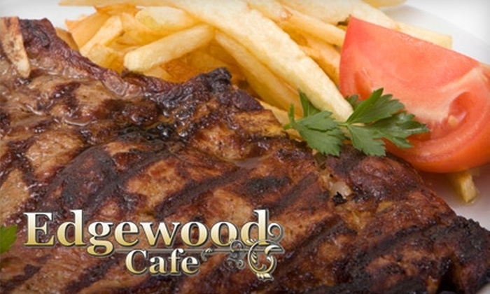 Edgewood Café - Cranston: $15 for $30 Worth of Food and Drinks at Edgewood Café in Cranston