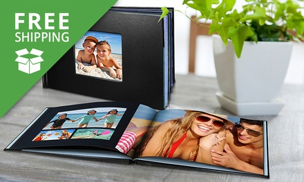 Free Shipping: $15 for a 20Page Personalised LeatherLook Photobook Don't Pay Up to $114.99