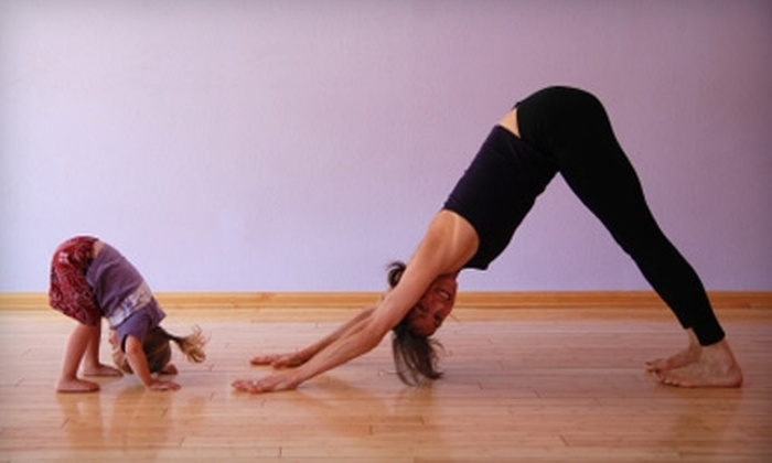 Heaven Meets Earth - Evanston: $45 for Adult or Kids' Five-Class Yoga Pass at Heaven Meets Earth in Evanston ($90 Value)