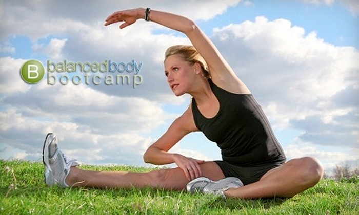 Balanced Body Bootcamp - Multiple Locations: $35 for 12 Women's Bootcamp Classes plus Nutritional Planning at Balanced Body Bootcamp ($388 Value)