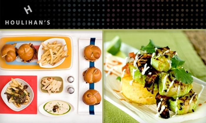 Houlihan's Corp. - Multiple Locations: $10 for $25 Worth of Handmade, Sharable Dinner at Houlihan's