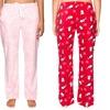 Twin Boat Women's Microfleece Pajama Pants