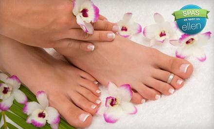 Basic Manicure & Mini Pedicure (a $35 Value) - Head 2 Toez Salon & Spa in Depew