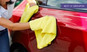 Cleaner: Pkw-Innen- und Außenreinigung, opt. mit Polster- und Lederpflege bei Cleaner (bis zu 72% sparen*)
