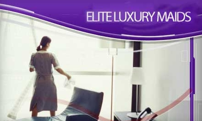 Elite Luxury Maid Services - Nashville: $55 for 3.5 Hours of House Cleaning from Elite Luxury Maid Services