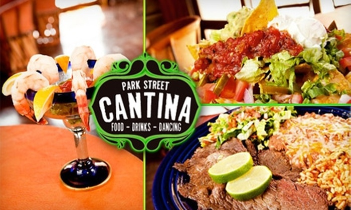Park Street Cantina - Downtown Columbus: $10 for $25 Worth of Mexican Fare at Park Street Cantina