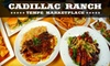 Cadillac Ranch - Tempe: $15 for $30 Worth of Burgers, Sandwiches, Steaks, Drinks, and More at Cadillac Ranch