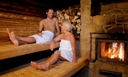 sauna tageskarte f r 1 oder 2 personen in der sauna. Black Bedroom Furniture Sets. Home Design Ideas